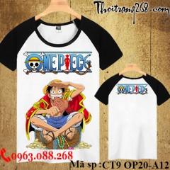 Áo thun One Piece lufy CT9 OP20-A12