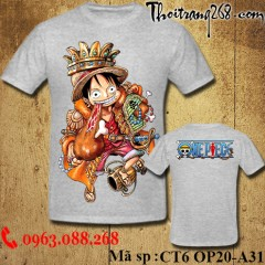 Áo thun One Piece Luffy 44