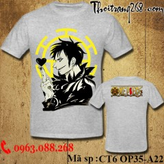 Áo thun One Piece Trafalgar Law 1